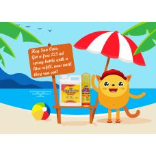 Dox SunBlaster Sun Cats 1 Litre Refill